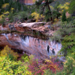 Emerald Pools in Oct. Zion NP