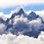 Tetons Clearing Storm WY