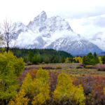 September morning after storm Tetons WY